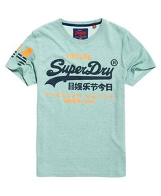 34674c41 Mens - Premium Goods Duo T-Shirt in Haze Green Grindle. Superdry StyleSuperdry  FashionSuperdry ...
