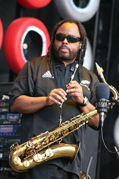 Roi .. powerful horns and attitude.  DMB will never be complete without him.