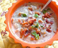 the preppy paleo: Paleo Roasted Cauliflower & Mushroom Soup