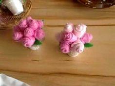 Flores em tecidos passo a passo,Organza Flower Tutorial