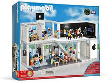 playmobil apple store playset. all sorts of genius!