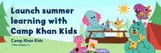 2021: Launch summer learning with Camp Khan Kids! – Khan Academy Hands On Learning, How To Speak Spanish, Camping With Kids, Outdoor Play, Physical Activities, Nonfiction, Summer Fun, New Books, Product Launch