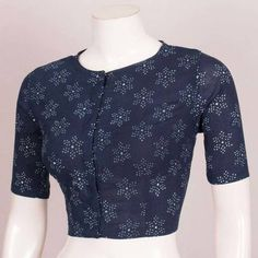 Buy online Hand Block Printed Cotton Blouse with Piping 10038037 Saree Blouse Neck Designs, Kurta Designs, Silk Cotton Sarees, Cotton Blouses, Batik Prints, Collar Blouse, Printed Cotton, Pattern Sewing, Birthday Greetings