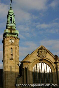 Bahnhof in Luxemburg-Stadt