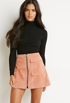 Mock Neck Ribbed Sweater | Forever 21 - 2000155988