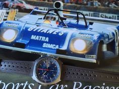 Vintage matra sports #chronograph,historic #formula 1,le mans #classic,heuer  ,  View more on the LINK: http://www.zeppy.io/product/gb/2/201811617746/