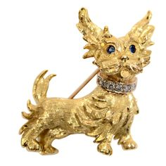 Shop diamond and pearl brooches and other antique and vintage brooches from the world's best jewelry dealers. Dog Jewelry, Animal Jewelry, Jewelry Art, Antique Jewelry, Vintage Jewelry, Silver Jewelry, Mirror Jewelry Armoire, Fox Dog, Cute Creatures
