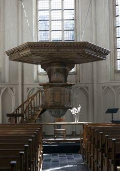 pulpit in a dutch church