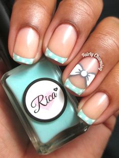 Today I have teamed up with Loverly to design a cute wedding nail art look! Fabulous Nails, Gorgeous Nails, Love Nails, Pretty Nails, My Nails, Cute Nail Art, Gel Nail Art, Nail Manicure, Nail Polish Designs