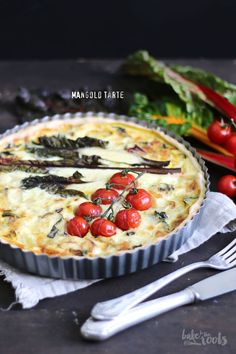 Leckere Mangold Tarte | Bake to the roots