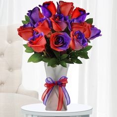 Red Hat Society Roses! Awesome!