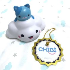 Ppancollection kitty on cloud squishy ~ scented