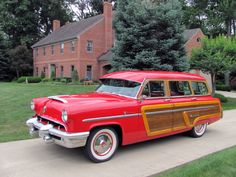 Mercury Montrey woody woodie Station Wagon.