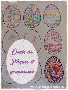 Décoration de Pâques à faire avec les enfants |La cour des petits http://www.lacourdespetits.com/decoration-paques-enfant/ #paques #easter #craft #enfant