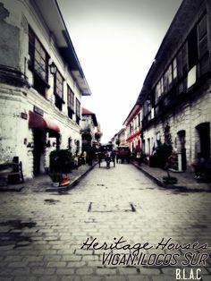 Heritage Houses,Vigan Ilocos Sur Ilocos, Vigan, Philippines, Houses, Homes, House, Computer Case, Home