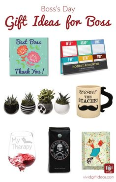 Creative christmas gifts for your boss