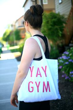 DIY Gym Bags made easy with the Silhouette!