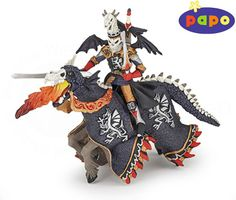 The Dragon Warrior and Horse from the Papo Fantasy collection - Discounts on all Papo Toys at Wonderland Models. One of our favourite models in the Papo Fantasy figure range is the Papo Dragon Warrior and Horse. http://www.wonderlandmodels.com/products/papo-dragon-warrior-and-horse/