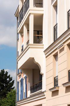 Les Millésimes - Le Blanc-Mesnil (93) © Ecliptique - Laurent Thion Laurent, Mansions, House Styles, Home Decor, Ile De France, Decoration Home, Manor Houses, Room Decor, Villas