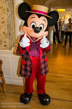 Mickey Mouse - 2014. One of my favorite mickey outfits