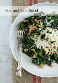 Authentic Suburban Gourmet: Kale and Farro Salad