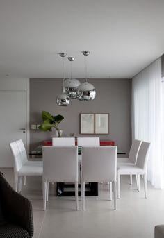 Decoração e Ideias | casa e jardim: Tons neutros definem apartamento…