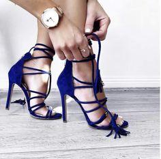 Finally found my 2017 Valentine!!!😍 #shoes #shoelover #blue #high #heels #highheels