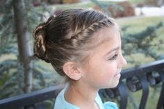 French Twistbacks into Spiral Twists {side  view}...