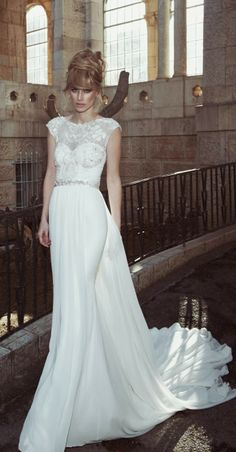 Tal Kahlon 2013 Bridal Collection | http://www.bellethemagazine.com/2013/12/tal-kahlon-2013-bridal-collection.html
