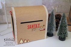 """Santa´s MailBox"" - Stampin´ Up! Artisan DesignTeam BlogHop 04.12.2014"