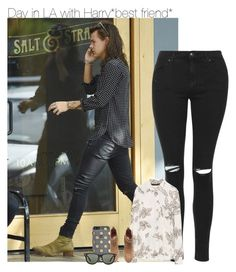 """Day in LA with Harry*best friend*"" by fanny483 ❤ liked on Polyvore featuring moda, Topshop, Zara, H&M, Kate Spade y Ray-Ban"