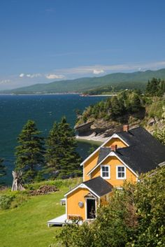 Cottage in Gaspe, Quebec