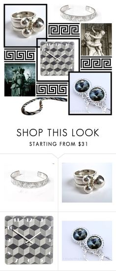 """""""November Silver Mix"""" by oxysfinecrafts ❤ liked on Polyvore featuring Paul Frank"""