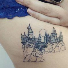 Tatouage Harry Potter Poudlard