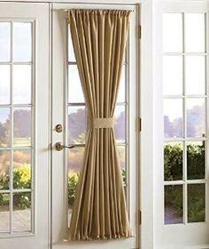 Amazon.com: Tan Blackout Door Panel: Home U0026 Kitchen · French Door  CurtainsDoor ...