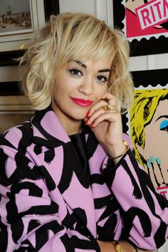 Sexy Strand Saturdays: Get Rita Ora's Textured 'Do