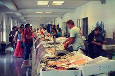 Fischmarkt in Ljubljana