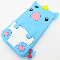 Blue Cutie Pigs Case for iPhone 5 - Kawaii Case. Get one for only $16.99!
