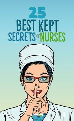 25 Best-Kept Secrets of Nurses - Finally Spilled! Nurse Bag, New Nurse, Nursing Pins, Nursing Notes, Nursing Information, Medical Billing And Coding, Becoming A Nurse, Pediatric Nursing, Best Kept Secret