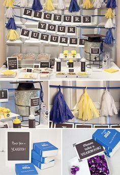 outdoor graduation party decorating ideas | Graduation-Party-Idea-From-Oink-The-Blog