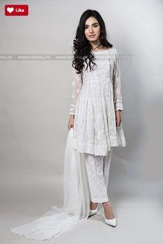Maria B Suit White SF-1560 Evening Wear 2017 - Original Online Shopping Store #mariab #mariab2017 #mariabeveningwear #mariabchiffon2017 #mariabpret #womenfashion's #bridal #pakistanibridalwear #brideldresses #womendresses #womenfashion #womenclothes #ladiesfashion #indianfashion #ladiesclothes #fashion #style #fashion2017 #style2017 #pakistanifashion #pakistanfashion #pakistan Whatsapp: 00923452355358 Website: www.original.pk