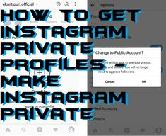 Users can use this method to get Instagram private profiles. This method will help any user from anywhere around the world to make Instagram private. A private Instagram can make all your account private, and none can see your data on Instagram. You can secure your Instagram account by creating your Instagram profile private from other users. Users need to follow you or need your permission to view your content.