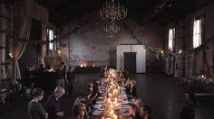 Kinfolk Dinner — Brooklyn, New York by Kinfolk. Film by Andrew + Carissa Gallo, http://www.seachant.co