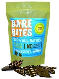 Bare Bites - 100% All Natural Dehydrated Beef Liver Dog and Cat Treats (6 Ounce Bag) *** Continue to the product at the image link. (This is an affiliate link and I receive a commission for the sales)