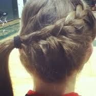 volleyball hair - Google Search