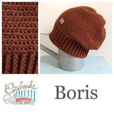 Tunella's Geschenkeallerlei präsentiert: das ist Boris, eine geniale gehäkelte Haube/Mütze aus einer Alpaka/Wolle/Acryl-Mischung - du kannst dich warm anziehen, dank sorgfältigem Entwurf, liebevoller Handarbeit und deinem fantastischen Geschmack wirst du umwerfend aussehen #TunellasGeschenkeallerlei #Häkelei #drumherum #Beanie #Pudelhaube #Haube #Mütze #Alpaka #Wolle #Boris