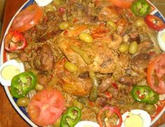 Senegalese Recipe, Puff Pastry Appetizers, Yummy Food, Tasty, Fresh Seafood, Recipe For 4, Rice Recipes, Recipies, Recipes