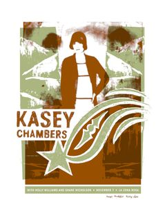 GigPosters.com - Kasey Chambers - Holly Williams - Shane Nicholson