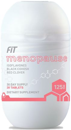 Fit Menopause contains a proprietary blend of potent bioactives, including a unique combination of red clover and chaste tree, that are proven to alleviate the symptoms of menopause.*    *These statements have not been evaluated by the Food and Drug Administration. This product is not intended to diagnose, treat, cure, or prevent any disease.