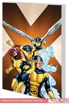 X-Men: First Class - The Wonder Years  #comics #xmen